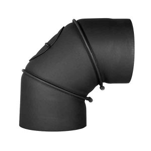 Oceľové koleno ⌀120mm/0-90° regulovateľné